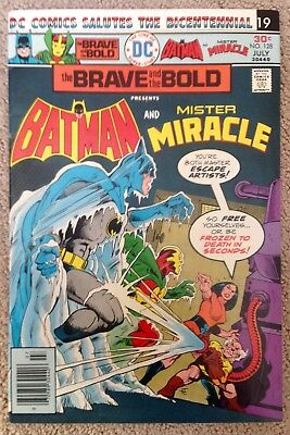 The Brave And The Bold #128 (1976) DC! Batman/Mister Miracle!  PRICED TO SELL!