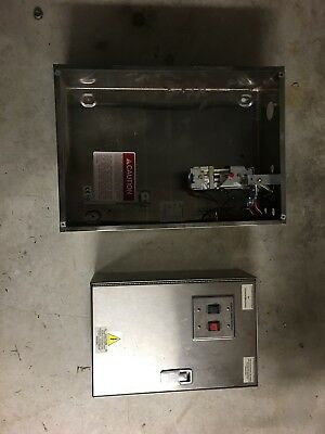 Ansul Bottle Cabinet With Valve And Hood Fan/light Control Box
