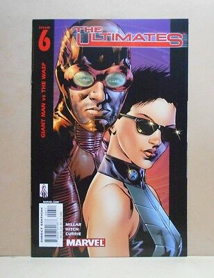 THE ULTIMATES Vol.1 #6 8/02 Marvel 1st Print 9.0 VF/NM- Uncertified Millar/Hitch