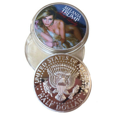 Donald Trump Wife First Lady Mrs. Melania Commemorative Coin Medal US President