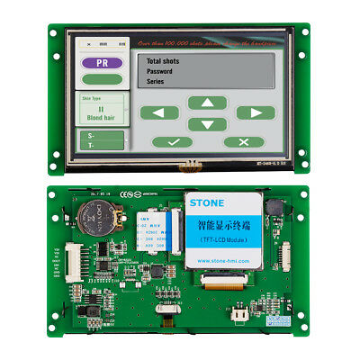 """NEW HMI 10.1/"""" 800*480 128MB TGA62-MTRTC ARM9 CPU 400MHZ  with programming Cable"""