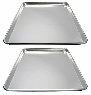 Winware ALXP-1826 Commercial Full-Size Sheet Pans Set of 2 18-Inch x 26-Inch ...