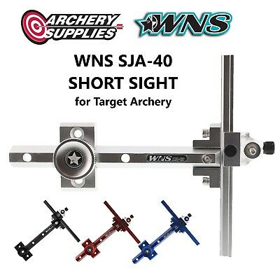 WNS SJA-40 SHORT SIGHT for Recurve Target Archery - Right Hand - Silver
