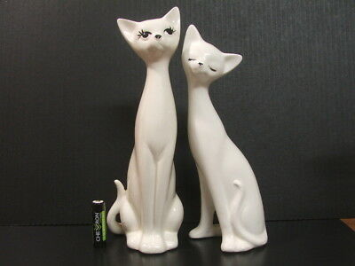 Large Cat couple Salt and Pepper shakers