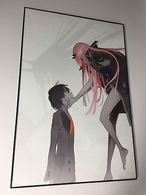 "FRAMED Darling in the Franxx Zero Two Poster 12""x18"" FAST USA SHIPPING"