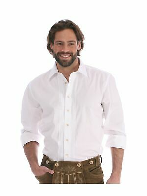 Almsach Traditional Shirt Classic Shirt Collar 125CO White