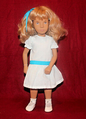 "16"" Vintage Sasha Doll,Blond,Blue Eyes,Tag,Made In England"