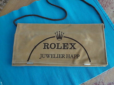 Rolex    Ledertasche - Beutel - Bag - Promotion