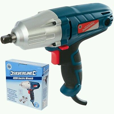 """Details about  Silverstorm 400W Electric Impact Drill Wrench 1/2"""" Dr Power Tool"""