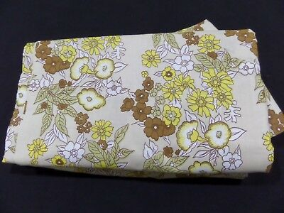 Vintage, Retro, Cotton Sheets, Double Bed.Craft, Sewing Fabric.