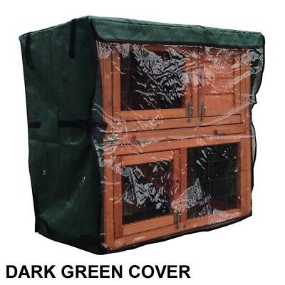 RHM HUTCH Rain Cover For Rabbit Hutch Run Covers Pet Hutches Ferret Cages