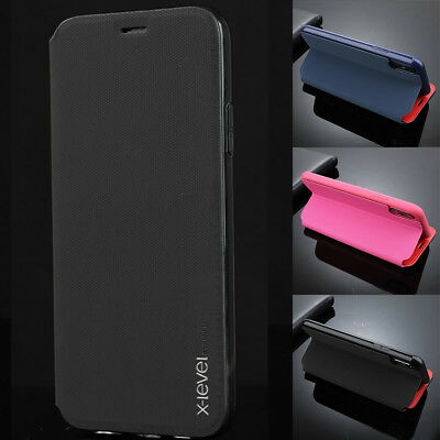 For Huawei P20 Lite/Pro Mate 10 Ultra-Thin Genuine Leather Card Slot Case Cover