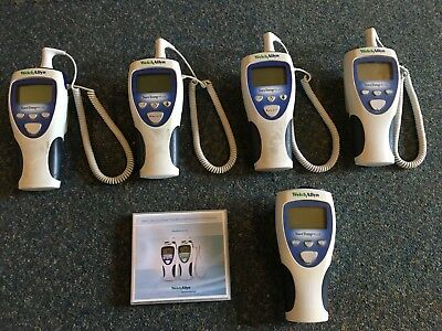 5 x WELCH ALLYN SURE TEMP 692 PLUS ORAL THERMOMETER JOB LOT