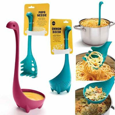 2 x Dinosaur Soup Spoons Loch Ladle Monster Nessie Spoon Kitchen Tool