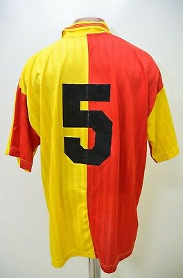Galatasaray Turkey 1996/1997 Home Football Shirt Jersey Adidas #5 Xl Adult