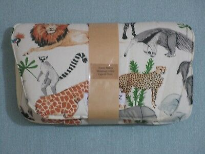 Handmade shopping trolley capsule liner-Jungle animals.