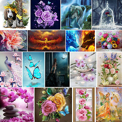 5D Diamant Painting Diamond DIY Kreuzstich Stickerei Malerei Bilder Stickpackung