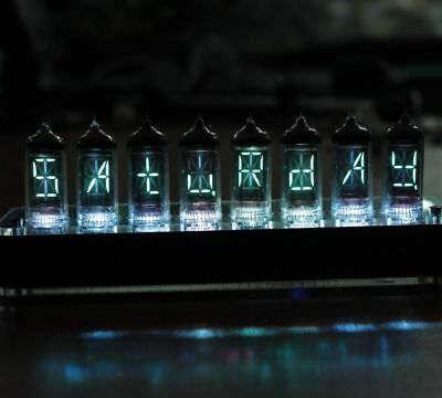With Tubes With Case IV-17 VFD Tube Clock Led and Remote Functions nixie era