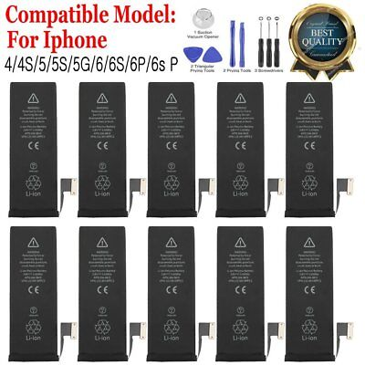 OEM Genuine Replacement Internal Battery For iPhone 4 4S 5 5S 6 6S 6plus 6S Plus
