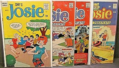 She's Josie 8 Silver Age Josie and the Pussycats 47, 65, 78 Bronze Archie Comics