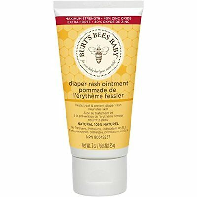 Diaper Creams Burt's Bees Baby 100% Natural Rash Ointment Ounce Tube GIFT NEW