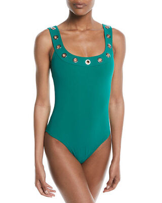 00c5ca62bfd KARLA COLLETTO RICK Rack Scalloped-Neck Underwire One-Piece Swimsuit ...