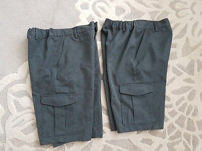 Boys Marks and Spencer school cargo shorts age 10-11 years