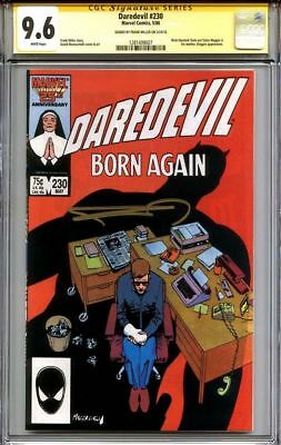 Daredevil #230 CGC 9.6 SS Frank Miller ONLY 6 SIGNED