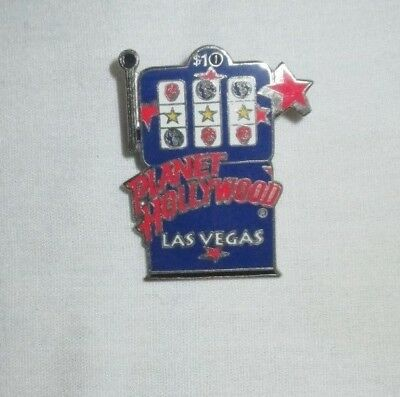 Planet Hollywood Las Vegas Slot Machine Collectible Pin From 2001