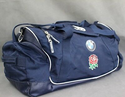 ENGLAND RUGBY Mens Navy PLAYER ISSUE CANTERBURY CCC Large BAG / HOLDALL