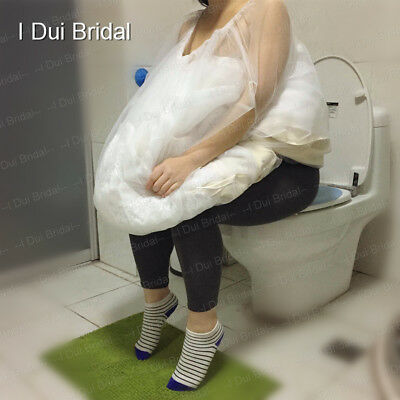 Bridal Wedding Buddy Petticoat Underskirt Save You From Toilet Water One Size