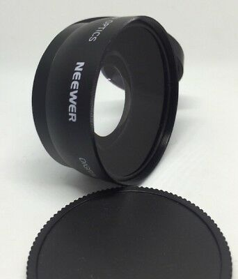 Neewer Digital High Definition 0.45X Super Wide Angle Lens With Macro P161