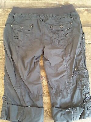 Mothercare Maternity Cropped Trousers Size 12
