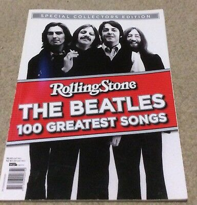 Rolling Stone Magazine The Beatles 100 Greatest Songs Special Collectors Edition