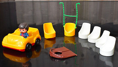 Vintage 1970's Palitoy Discovery Time Family Tree House Accessories