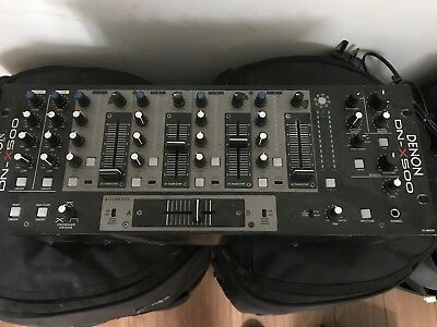 DENON DN-X500 4 Channel DJ Mixer  Spares Or Repairs