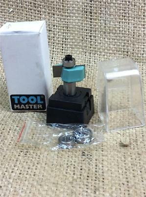 "Clearance Lot La37 Toolmaster Router Bit Tct Rebate Cutter 3 Bearings 1/2"" Shank"