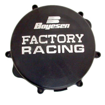 Boyesen Factory Clutch Cover BLACK for Suzuki RM250 96-08 CC-22B