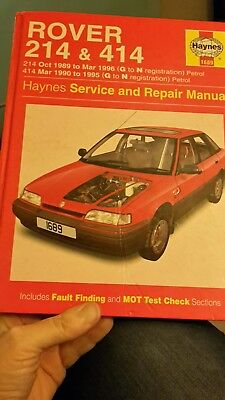 haynes service and repair manual rover 214 414 0 99 picclick uk rh picclick co uk Rover 75 V8 Rover 200