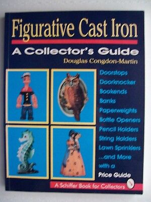 ANTIQUE CAST IRON PRICE $$ GUIDE COLLECTOR'S BOOK Includes Doorstop Bank Bookend