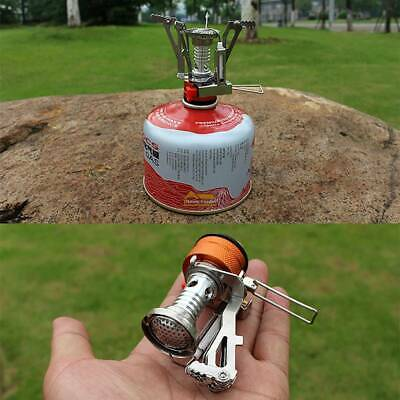 Mini Outdoor Cooking Folding Portable Pocket Camping Gas Stove Burner With Case