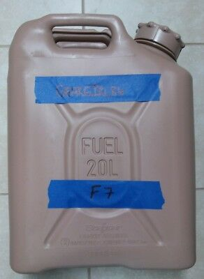 NEW style SCEPTER US MILITARY JERRY / FUEL CAN 5 GAL/20L - TAN F7