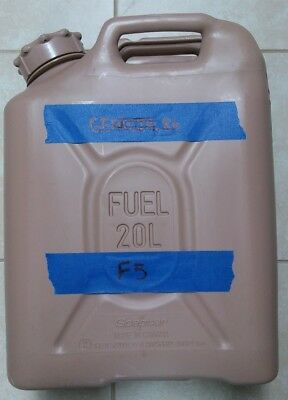 NEW style SCEPTER US MILITARY JERRY / FUEL CAN 5 GAL/20L - TAN F5