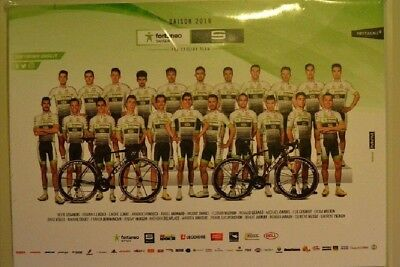 CYCLISME CP team FORTUNEO SAMSIC 2018 JEU COMPLET