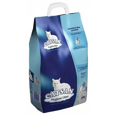 Catsan Hygiene Cat Litter Kitten Natural Non Clumping 20L