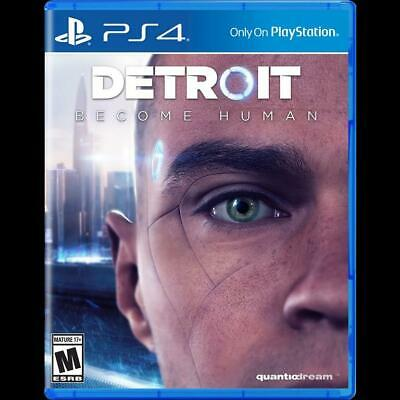 Detroit Become Human Ps4 New Sealed Dispatching Today All Orders By 2 P.m.