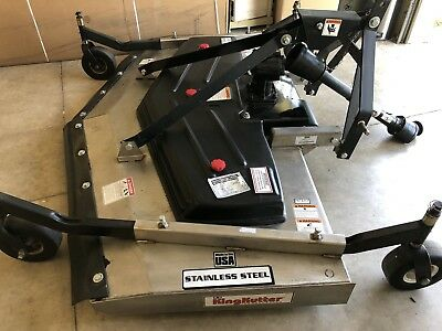 KING KUTTER REAR Discharge Finish Mower-84in RSFM-SS-84-FH-SK