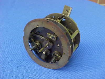 Antique French 1886 Ricndei A Paris Striking Bracket Clock Movement