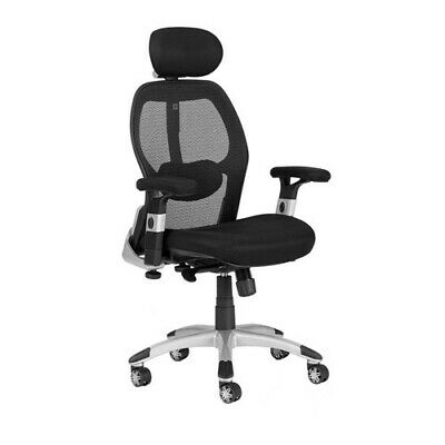 NEW Milan Direct Deluxe Mesh Ergonomic Office Chair with Headrest