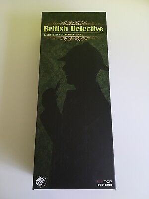 Pop Toys Sherlock Holmes British Detective 1/6th Scale Collectible Figure